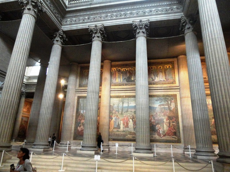 Portico of Corinthian columns