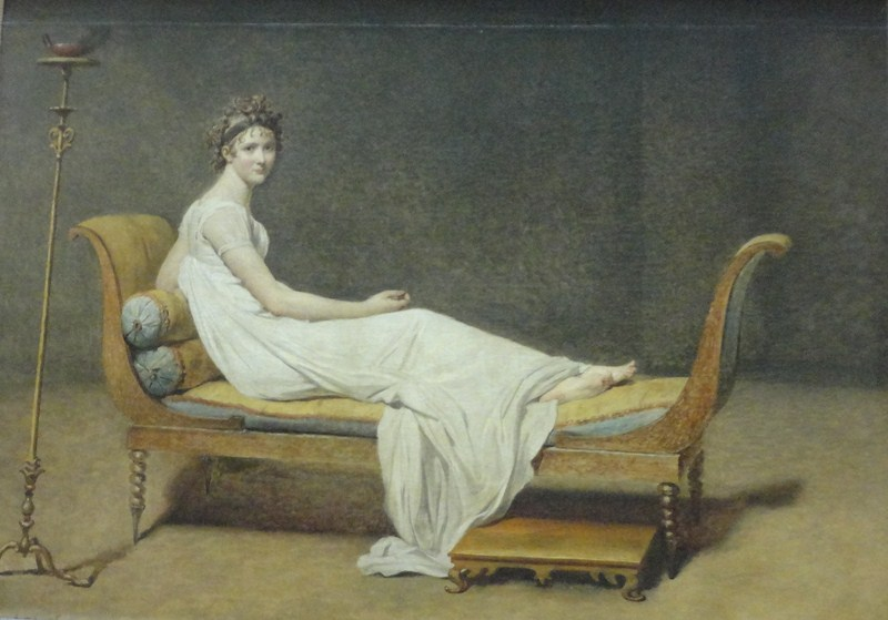 Portrait of Madame Recamier (Jacques Louis-David)