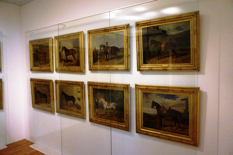 Portraits of Empress Elisabeth's favorite horses