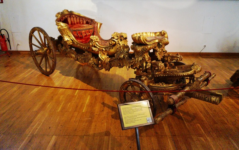 Queen Maria Theresia's carousel carriage