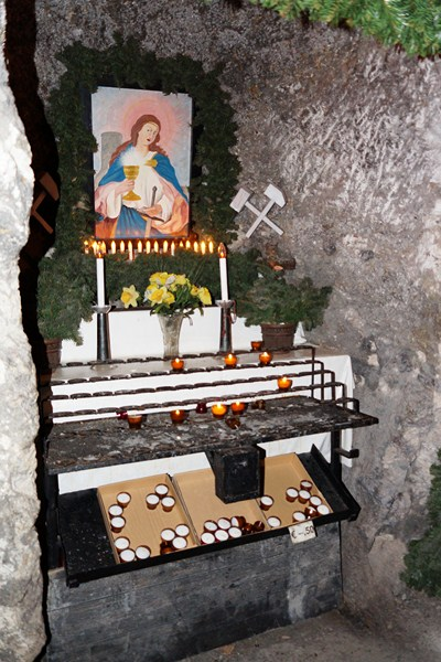 Shrine to St. Barbara
