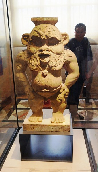 Statue of Bes, god of matrimony, as a dwarf