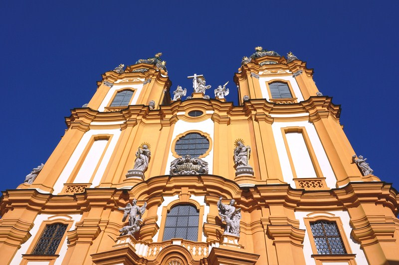 Facade of Stiftskirche (Abbey Church)