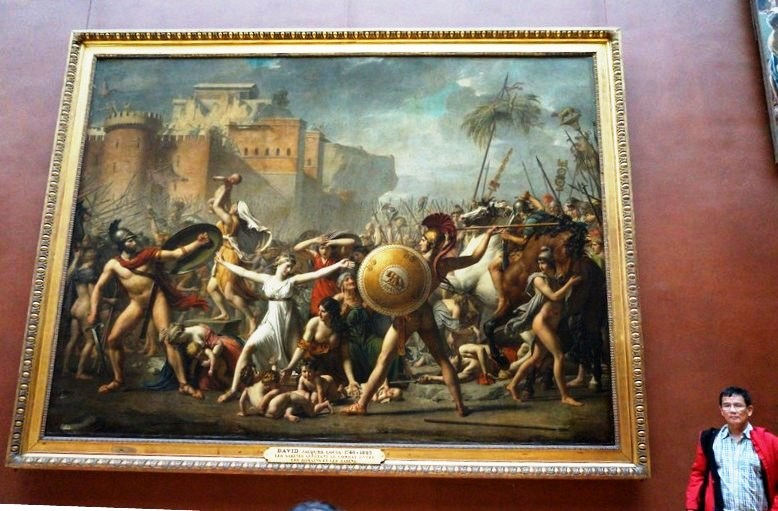 The Intervention of the Sabine Women (Jacques Louis-David)