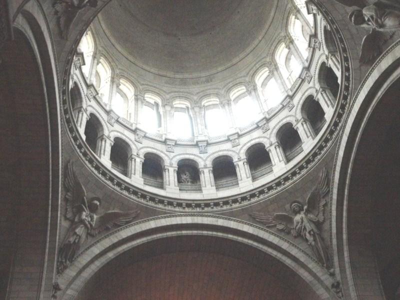 The basilica's dome