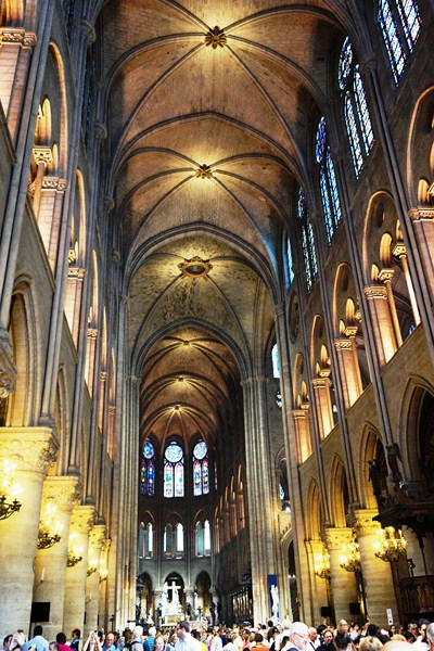 The cathedral interior