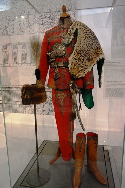 Uniform of an officer of the Royal Hungarian Life Guard