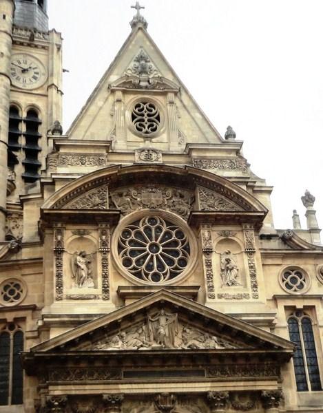The three pediments