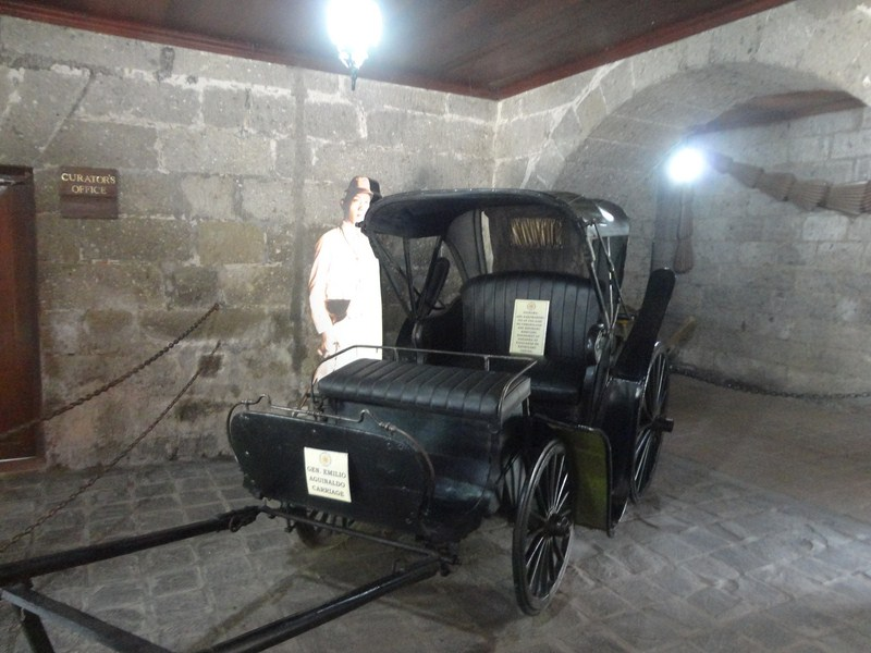 Carriage used by Pres. Aguinaldo