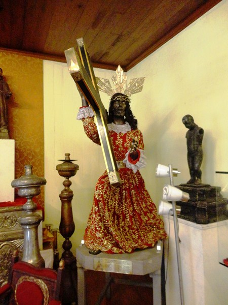 Replica of the Black Nazarene of Quiapo