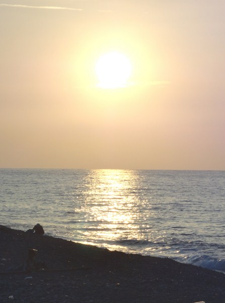 Sunset over Darigayos Point