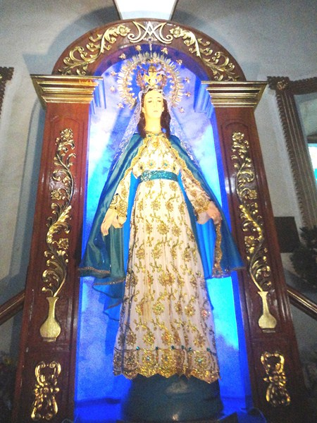 Statue of Our Lady of Namacpacan