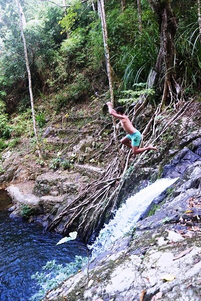 A foreigner takes the plunge