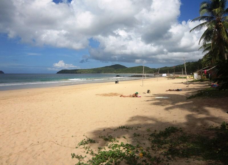 Pristine Nacpan Beach