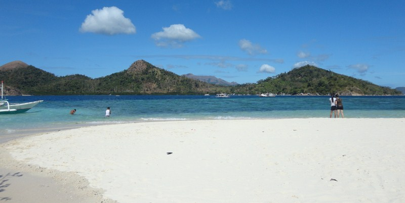 View of the main island from CYC Beach