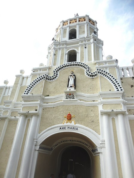 The Baroque-style facade