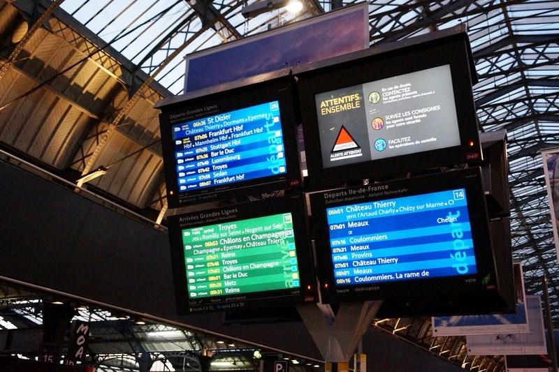 Gare de l'Est Train Station (4)