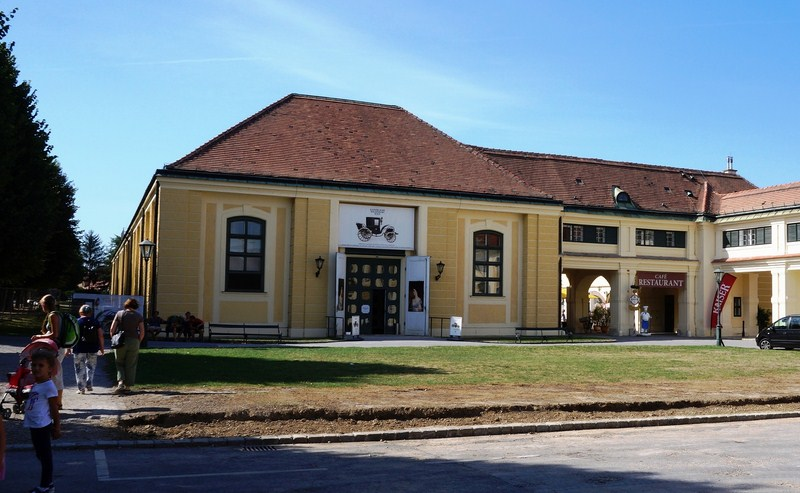 The Imperial Carriage Museum (Wagenburg)
