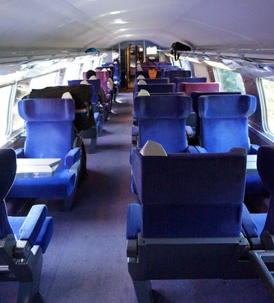 The First Class, second level cabin