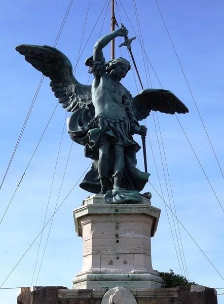Angel Statue (Peter Anton von Verschaffelt)