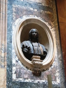 Bust of the painter Raphael (Giuseppe Fabris)