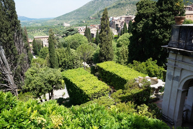 The Garden of Villa d'Este