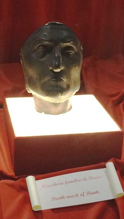 Death mask of Dante