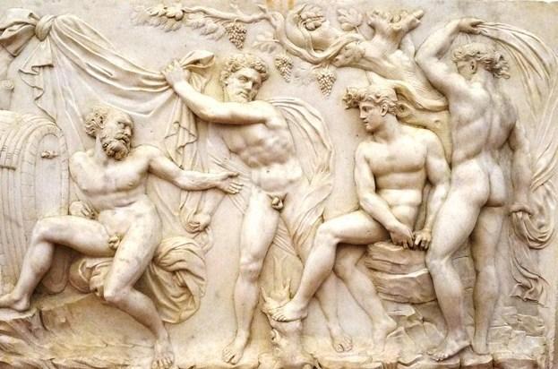 Drunkeness of Noah (Baccio Bandinelli)