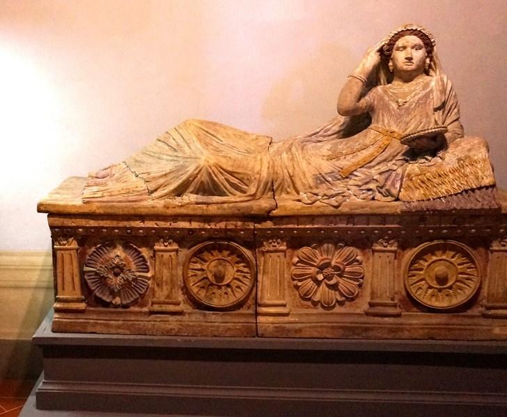 Etruscan sarcophagus of Larthia Seianti