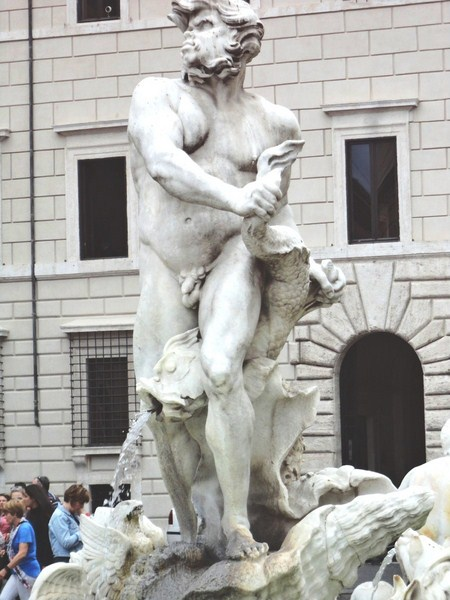 Statue o the Moor