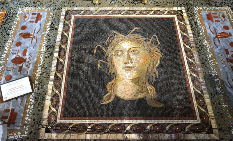 Fragment of mosaics