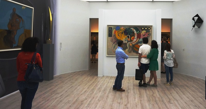 From Kandinsky to Pollock The Art of the Guggenheim Collections