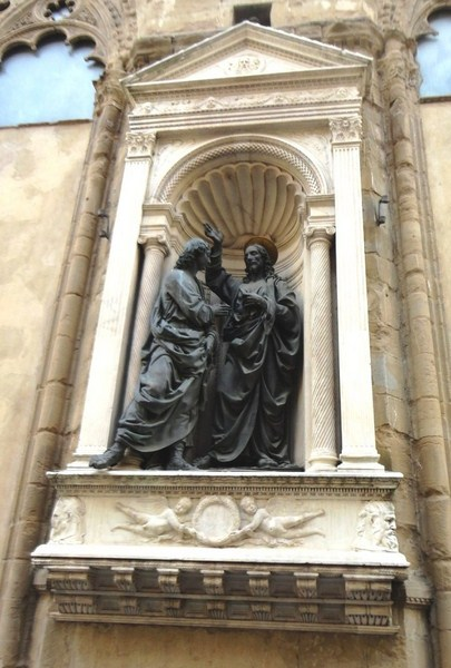 Incredulity of St. Thomas (Andrea del Verrocchio)
