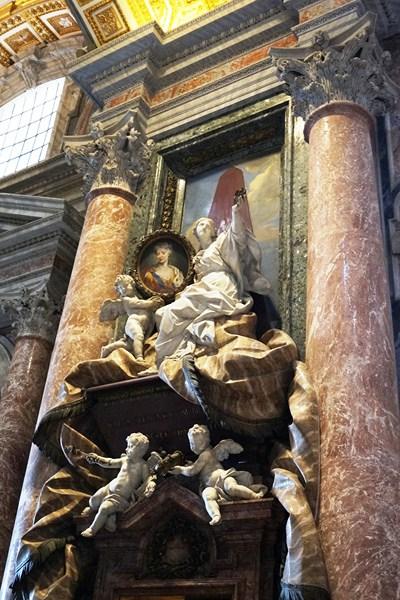 Monument to Maria Clementina Sobieski