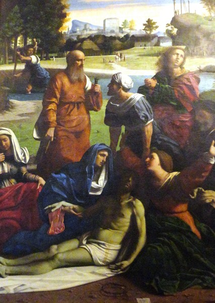 Mourning the Dead Christ (Ortolano)