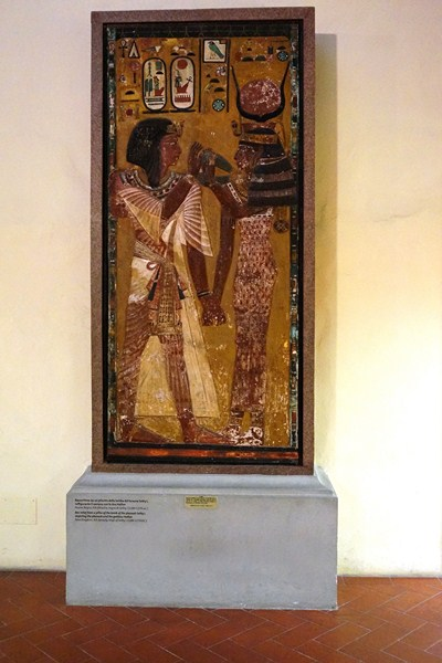 Pillar from the tomb of Seti I
