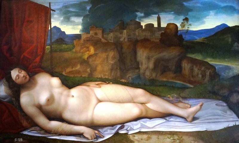 Sleeping Venus (Girolamo da Treviso il Giovane)