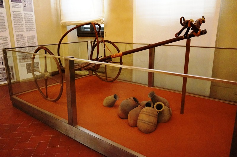 Spoked Egyptian chariot from the 18th Dynasty (1550–1292 BC) (2)