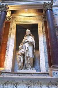 St Anne and the Blessed Virgin (Il Lorenzone)