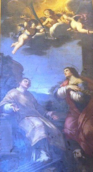 St Lawrence and St Agnes (Clement Maioli)