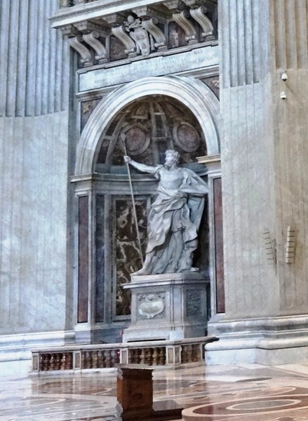 Statue of St. Longinus (Bernini)