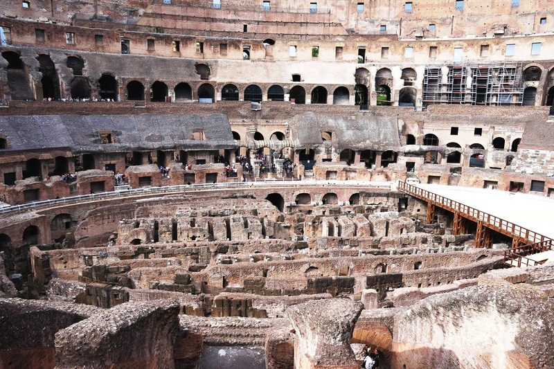 The Colosseum interior