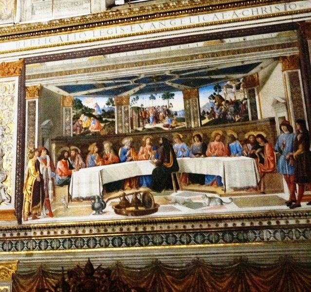 The Last Supper (Cosimo Rosselli)