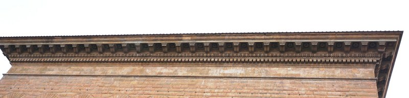 The dominating cornice
