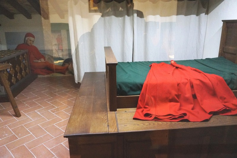Typical Medieval master bedroom