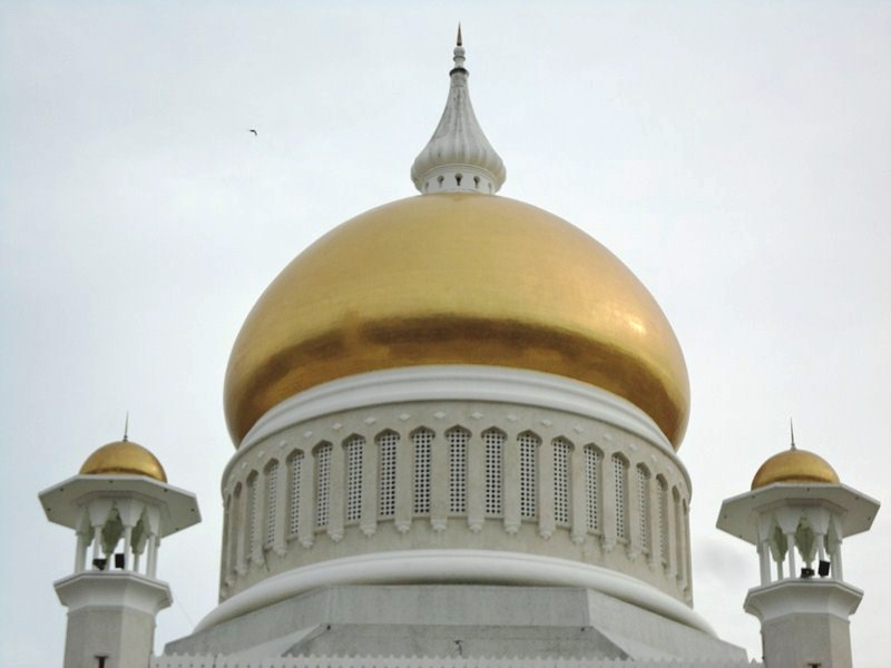 The gold-clad dome