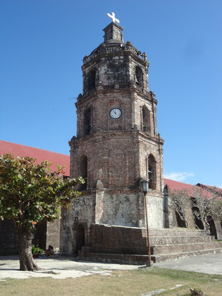 The 4-storey, octagonal bell tower
