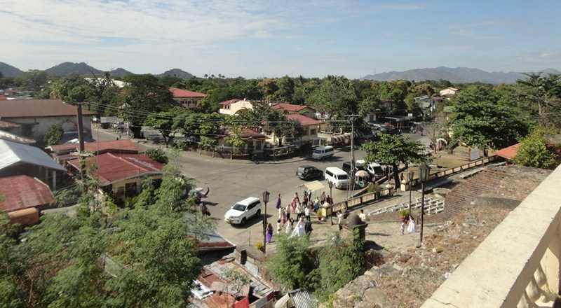 View of Sta. Maria town