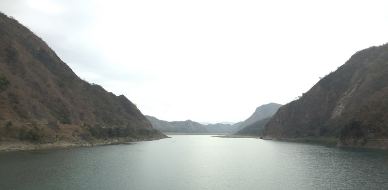 The mighty Abra River