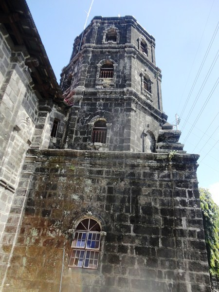 The octagonal bell tower
